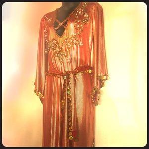 Dresses & Skirts - Unique Egyptian Bellydancer Dress - Costume ❤️